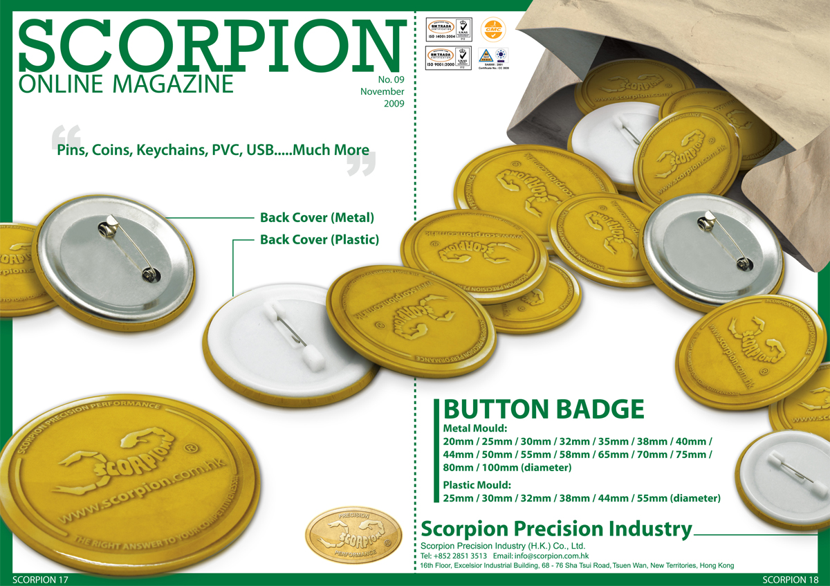Scorpion about us online magazine Internet magasin